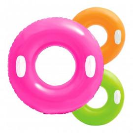 Intex koło do pływania z uchwytami 76cm mix kolor