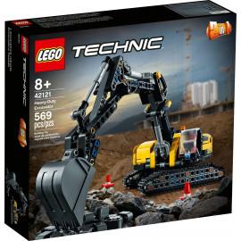 LEGO 42121 Technic - Wytrzymała koparka
