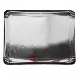 WM Homeside półmisiek jednorazowy 30x39cm (srebrny) 3szt