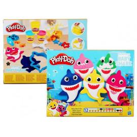 Hasbro PLAY-DOH Zestaw Ciastolina Baby Shark 3+