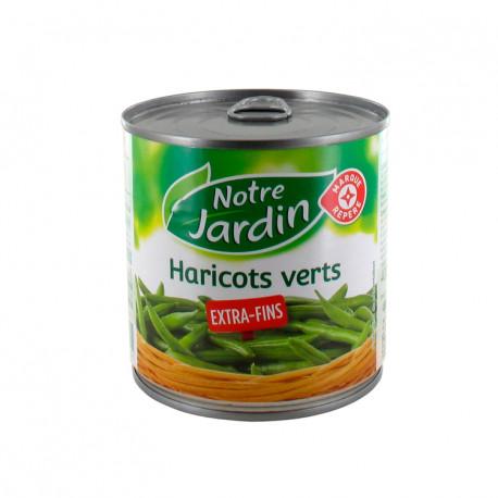 Fasolka szparagowa, zielona, cienka. Produkt sterylizowany.