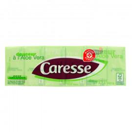Chusteczki higieniczne czterowarstwowe, nawilżone balsamem z aloesu.