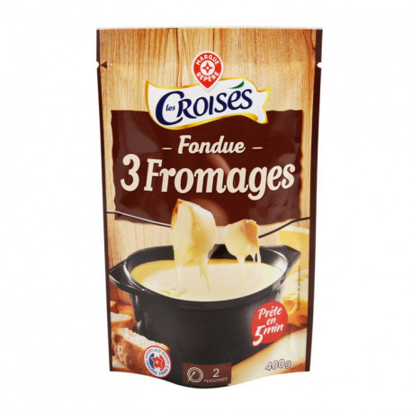 FONDUE – Mieszanka 3 serów do przygotowania dania serowego Fondue na gorąco