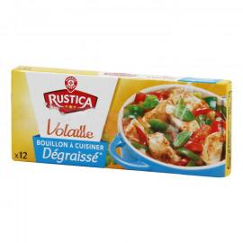 Rosół drobiowy, aromatyzowany o obniżonej zawartości tłuszczu*. Koncentrat przyprawowy do przygotowania zupy o smaku rosołu drob