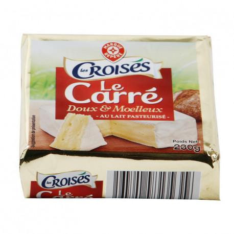 Ser Carre . Ser miękki, podpuszczkowy, dojrzewający, z porostem białej pleśni, z mleka pasteryzowanego.