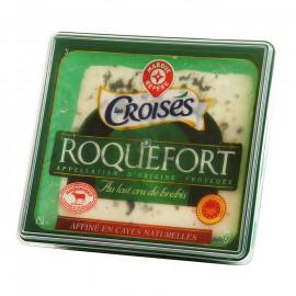 Roquefort* – Ser podpuszczkowy dojrzewający z surowego mleka owczego, z przerostem zielonej pleśni *Chroniona Nazwa Pochodzenia,