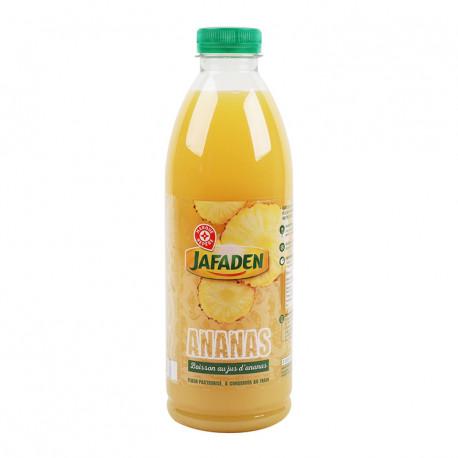Napój z soku ananasowego, pasteryzowany metodą flash.