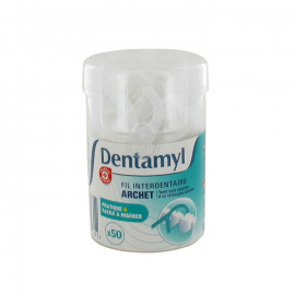 Wykałaczki z nicią dentystyczną 50 szt.
