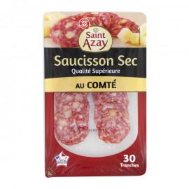 Kiełbasa plasterkowana wieprzowa suszona najwyższej jakości  z serem Comte.