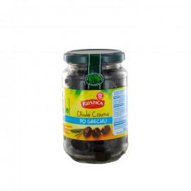 Oliwki czarne w oliwie z oliwek.