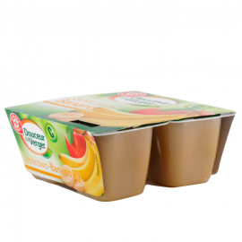 Mus jabłkowo-bananowy. Źródło witaminy C. Produkt pasteryzowany.