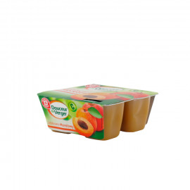 Mus jabłkowo-morelowy. Źródło witaminy C. Produkt pasteryzowany.