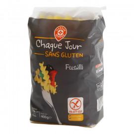 Fusilli – makaron na bazie mąki kukurydzianej i ryżowej,  bezglutenowy.