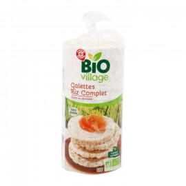 Ekologiczne wafle z ryżu pełnoziarnistego – 17 sztuk. Produkt rolnictwa ekologicznego.