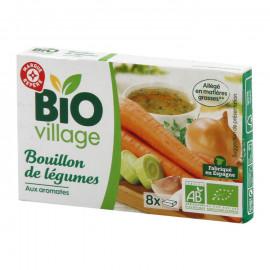 Ekologiczny bulion warzywny z ziołami  Produkt rolnictwa ekologicznego.