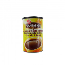 Mieszanka rozpuszczalnej cykorii i kawy rozpuszczalnej.
