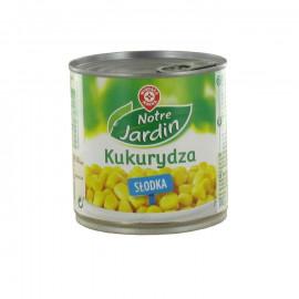 Słodka kukurydza konserwowa. Pakowana próżniowo.