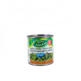 Fasolka szparagowa, zielona, drobna w zalewie. Produkt sterylizowany.