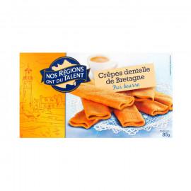 Ciasteczka typu cienkie naleśniki z Bretanii*. *Chronione Oznaczenie Geograficzne.