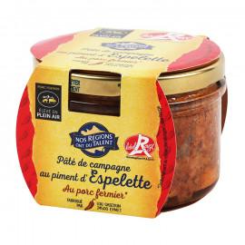 Pasztet wieprzowy z ostrą papryczką Espelette*