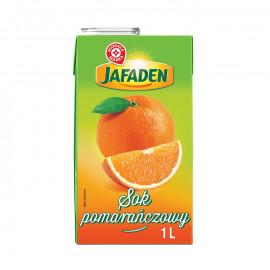 Sok pomarańczowy z zagęszczonego soku pomarańczowego. Pasteryzowany