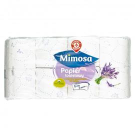 Papier toaletowy 3-warstwowy, o zapach lawendowym z fioletowym wzorem tłoczenia
