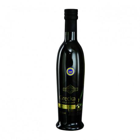 Oliwa z oliwek najwyższej jakości z pierwszego tłoczenia chania kritis chog