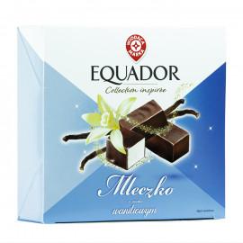 Mleczko – pianka o smaku waniliowym w czekoladzie.