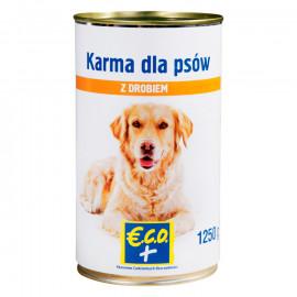 Pełnoporcjowa karma mokra w sosie z drobiem, dla dorosłych psów