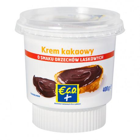 Krem kakaowy o smaku orzechów laskowych