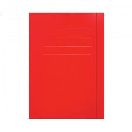 Teczka z gumką czerwona A4
