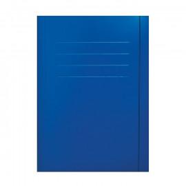 Teczka z gumką niebieska A4