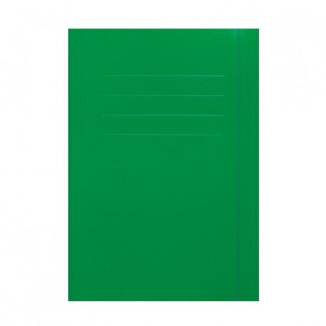 Teczka z gumką zielona A4