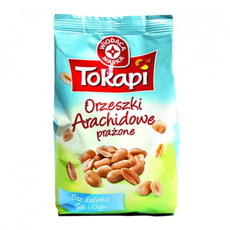 Orzeszki arachidowe prażone bez dodatku soli.