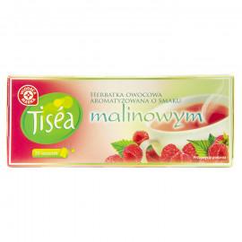 Herbatka owocowa z hibiskusem, aromatyzowana o smaku malinowym, ekspresowa