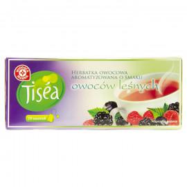 Herbatka owocowa z hibiskusem, aromatyzowana o smaku owoców leśnych, ekspresowa
