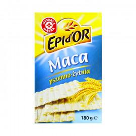 Pieczywo trwałe - maca pszenna z dodatkiem mąki żytniej razowej