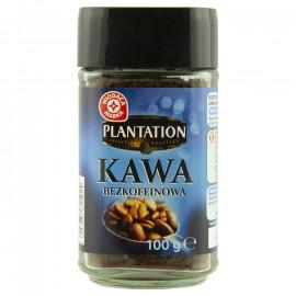 Rozpuszczalna kawa bezkofeinowa granulowana