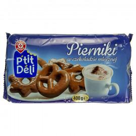 Pierniki w czekoladzie mlecznej