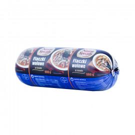 Flaki wołowe w rosole – żołądki wołowe gotowane w bulionie wołowo-wieprzowym z warzywami Wyrób garmażeryjny, pasteryzowany