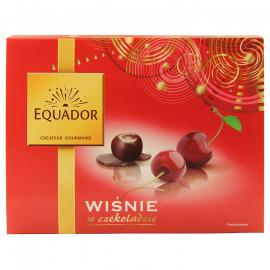 Wiśnie kandyzowane bez pestek w czekoladzie deserowej