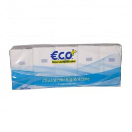 Chusteczki higieniczne 3-warstwowe