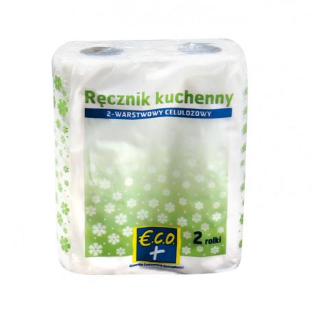 Ręcznik kuchenny 2-warstwowy, celulozowy 50 listków