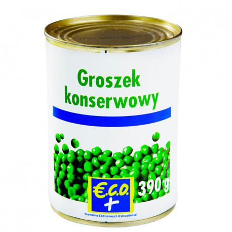 Groszek konserwowy. Produkt sterylizowany.