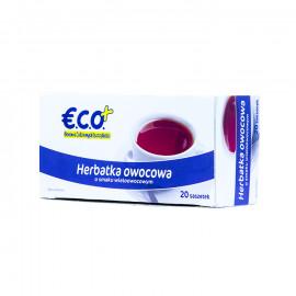 Herbatka owocowa z hibiskusem, aromatyzowana o smaku wieloowocowym, ekspresowa