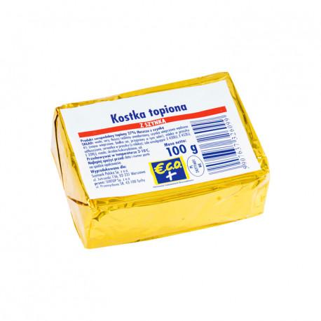 Produkt seropodobny topiony z szynką wieprzową i wędzoną