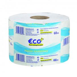 Papier toaletowy makulaturowy bielony