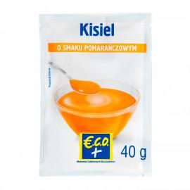 Kisiel w proszku o smaku pomarańczowym z sokiem owocowym i witaminą c