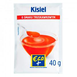 Eco+ kisiel o smaku truskawkowym 40g