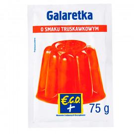 Galaretka w proszku o smaku truskawkowym